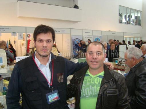 Eu e o amigo/cliente Mário Oliveira da ilha Terceira