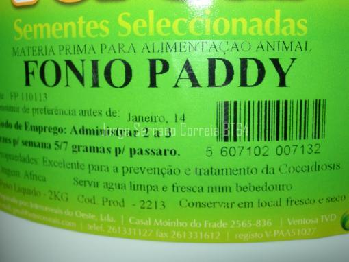 Fonio Paddy